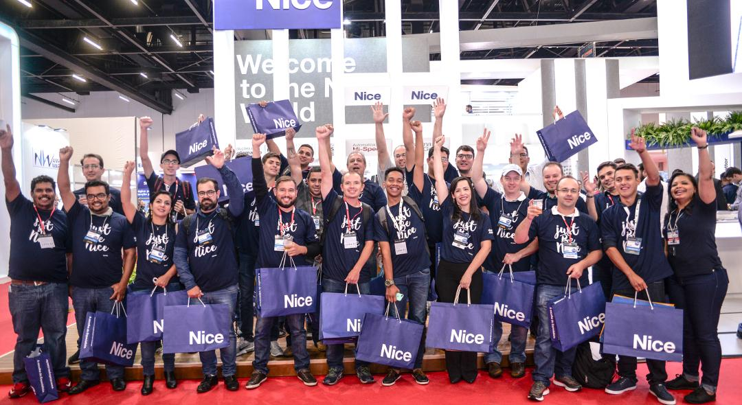 Great success for Nice at Exposec 2019 in Brazil