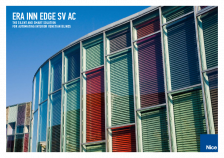 Era Inn Edge SV AC: the silent and smart solution for automating interior venetian blinds
