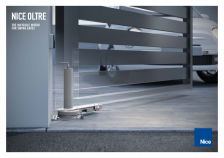 Nice Oltre: the invisible motor for swing gates