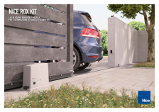 Rox, practical solution for sliding gates