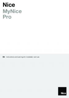 MyNice Pro app