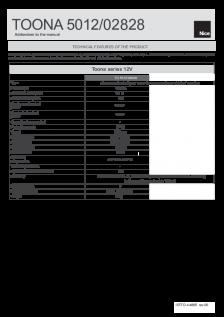 TOONA 5012