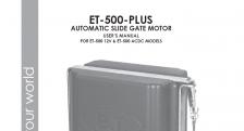 ET 500 Domestic, ET 500 Complex
