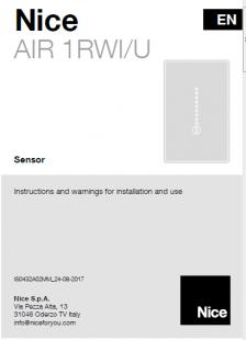 Nice AIR 1RWI/U