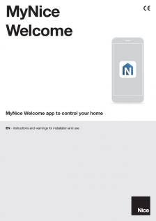 MyNice Welcome app