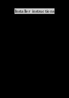 DC Blue GDO (Installer Instructions)