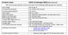 Challenger MkIII GDO