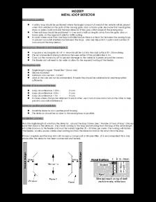 MD2009 Loop detector