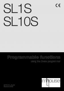 SL1S - SL10S